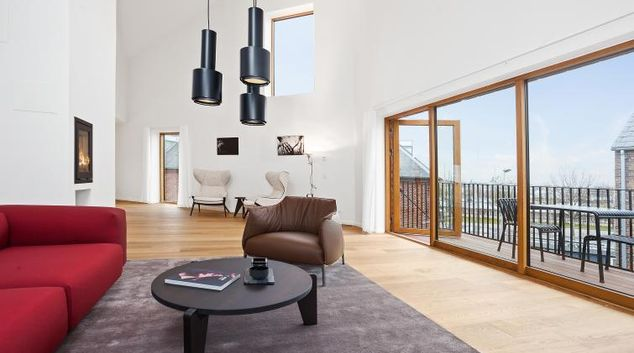 Nice furnishings at the STAY Kastellet Apartments