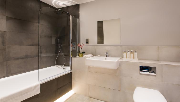 Bathroom at Alexandra Road Apartments