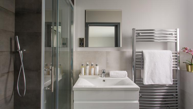 Sink at Alexandra Road Apartments