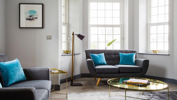 Sofa at Alexandra Road Apartments
