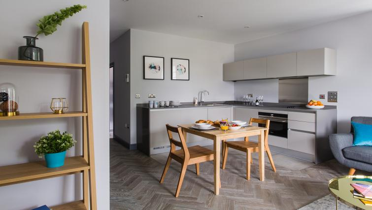 Kitchen/dining area at Alexandra Road Apartments