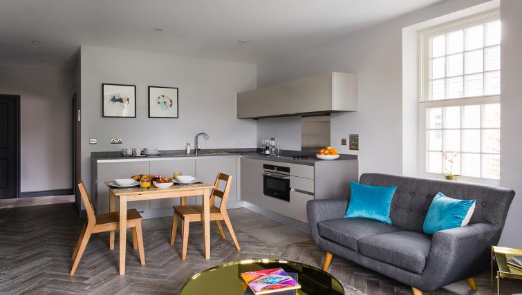 Kitchen at Alexandra Road Apartments