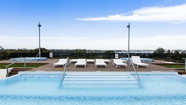 Swimming pool at Astra Perth Queens 111 Apartments
