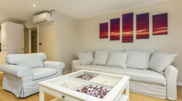 Living area at Crawford Suites Serviced Apartments