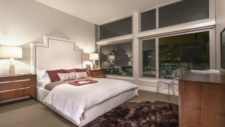 Bedroom at the Channel Mission Bay Apartment