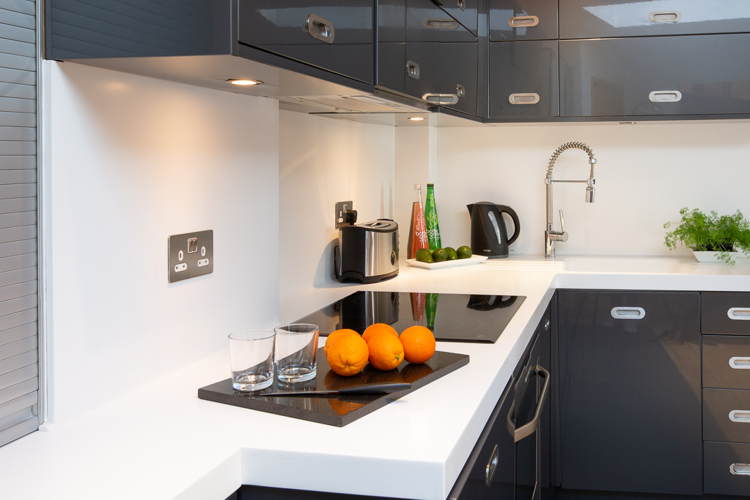 Kitchen at  St Peters Mews Apartments