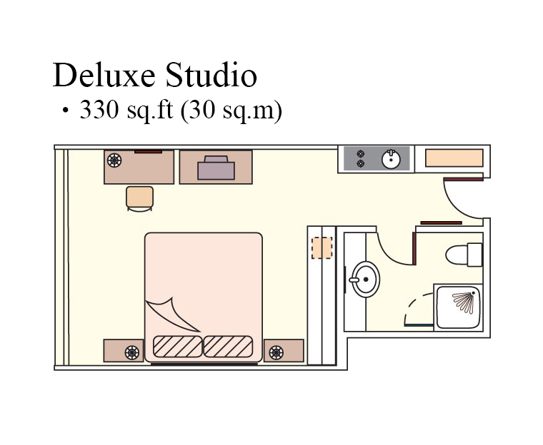 Studio at Harbour Plaza North Point Apartments