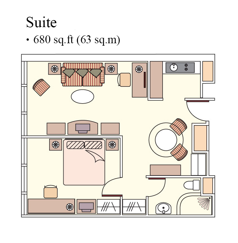1 bed apartment at Harbour Plaza North Point Apartments