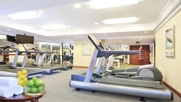 Fitness centre at Harbour Plaza North Point Apartments
