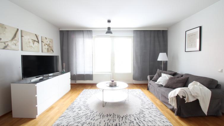 Lounge at the Lähettilääntie Apartment