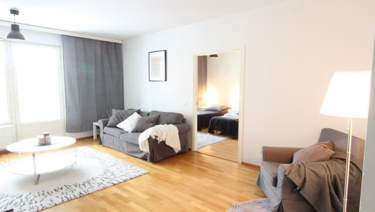 Living space at the Lähettilääntie Apartment