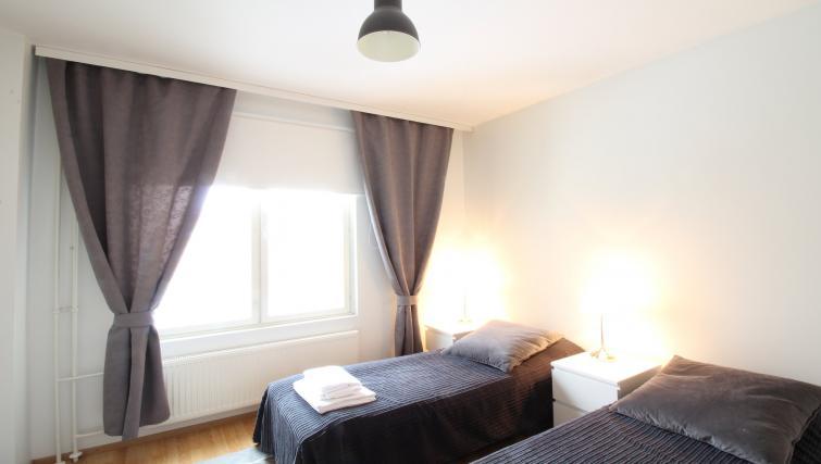 Bedroom at the Lähettilääntie Apartment