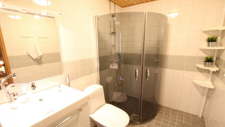 Bathroom at the Lähettilääntie Apartment