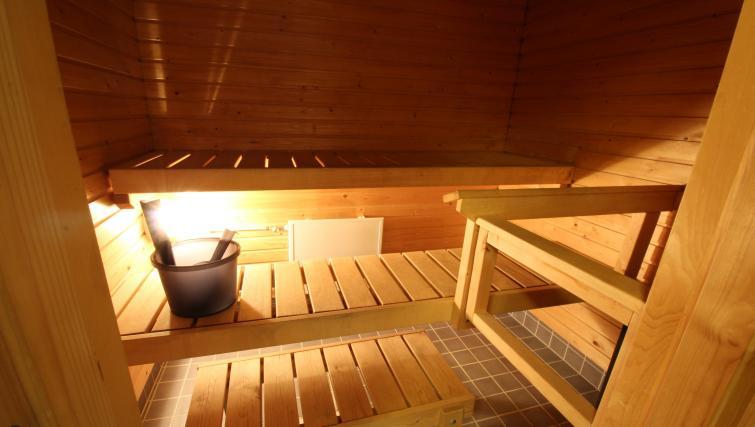 Sauna at the Lähettilääntie Apartment