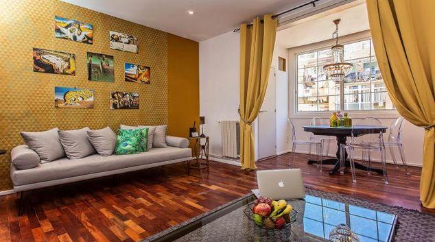 Lounge at the Dali Apartments Gracia
