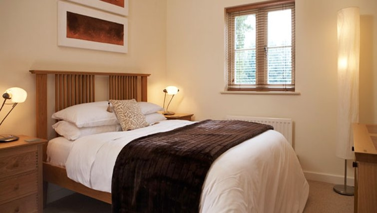 Classy bedroom in Netherstowe House Mews