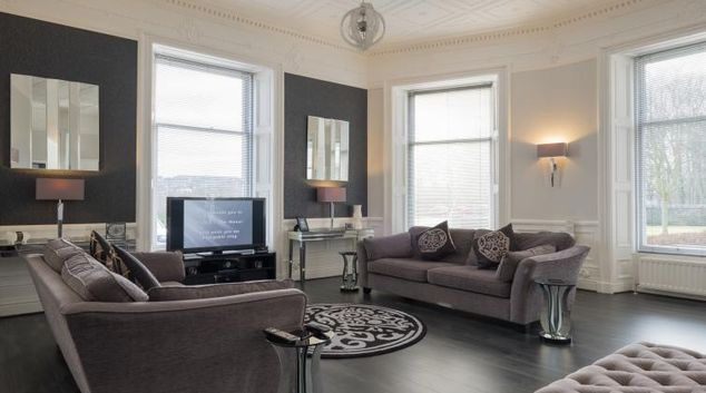 Living area at Marks @ The Manor Riverside Apartments