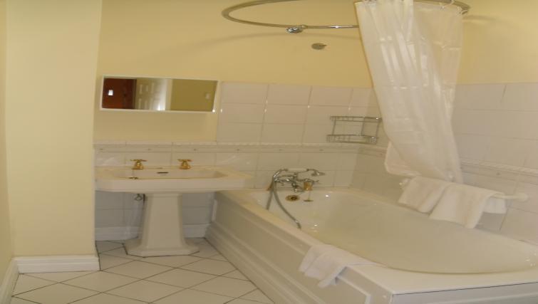 Bathroom at the Pembroke Road Studio