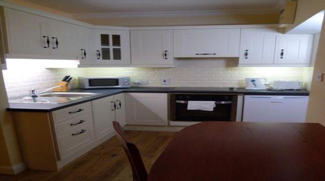 Kitchen at the Pembroke Road Studio