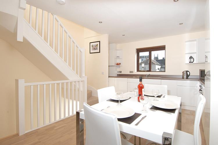 Dining area at Freemans Wharf Apartment