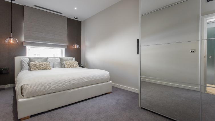 Double bedroom at 1 Harrington Gardens
