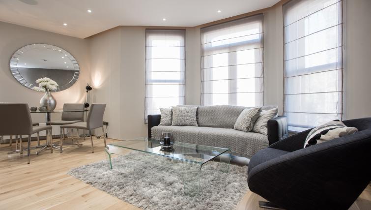 Modern living space at 1 Harrington Gardens
