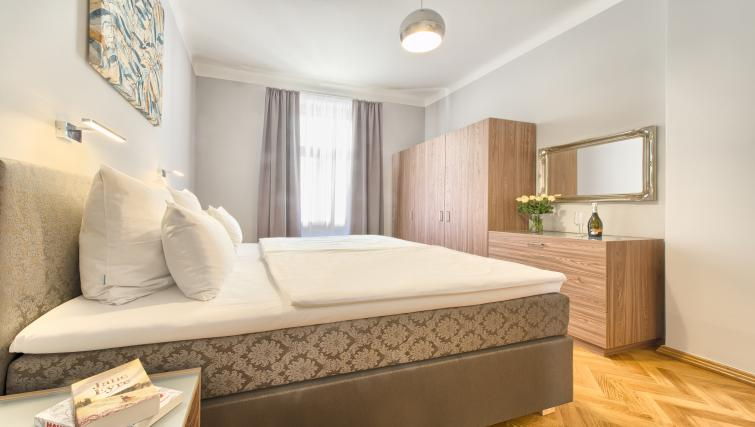 Modern bedroom at Dusni 13 Apartment