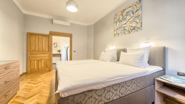 Bright bedroom at Dusni 13 Apartment