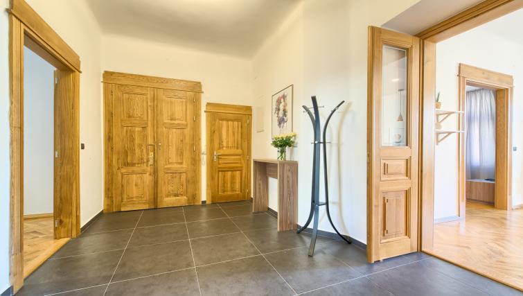 Hallway at Dusni 13 Apartment