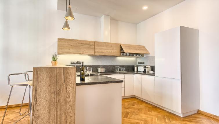 Kitchen at Dusni 13 Apartment
