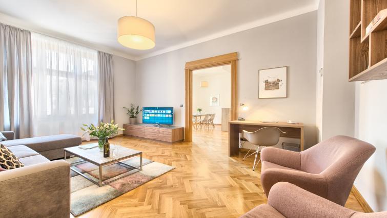 Living room at Dusni 13 Apartment