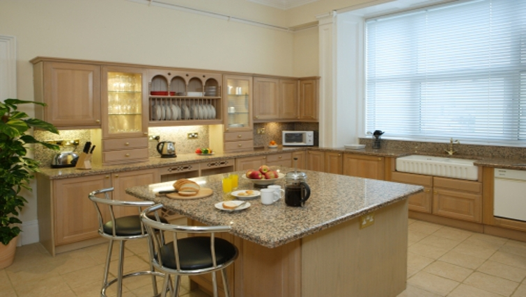 Functional kitchen in Osborne House