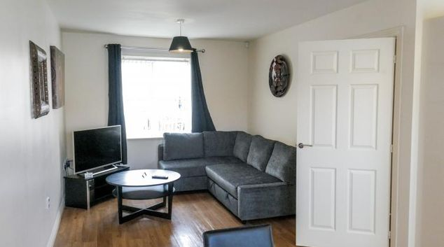Lounge at the UR CityPad Cambridge Apartments