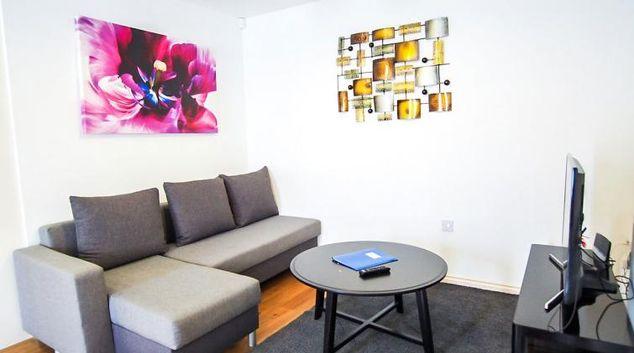 Living room at UR CityPad The Kensington Apartments