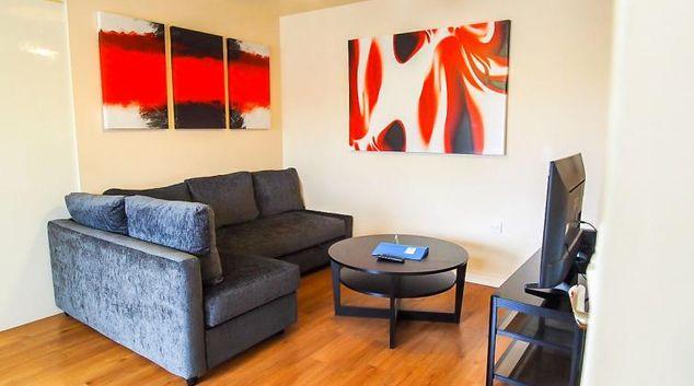 Living room at UR CityPad The Regent Apartment