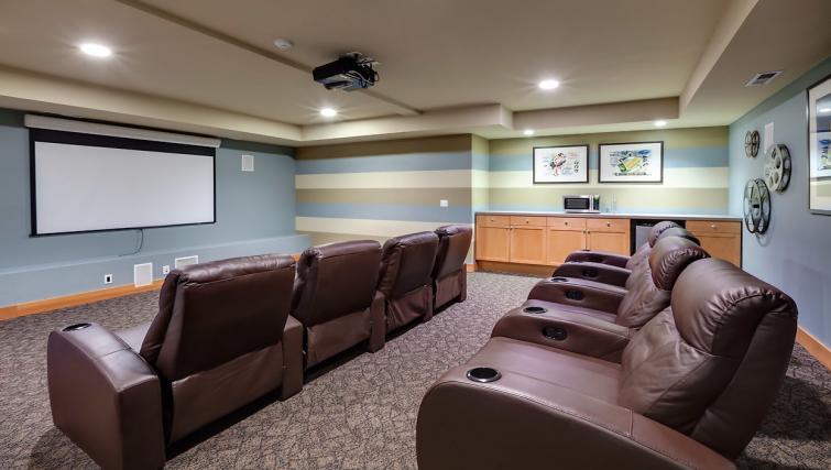 Cinema at the Pinnacle Sonata Apartments