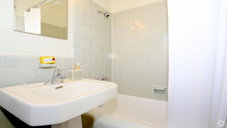 Bathroom at the Park Merced Apartment