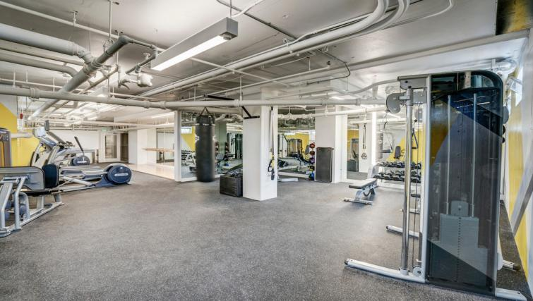 Gym at the Park Merced Apartment