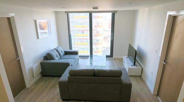 Lounge at the Gateway Apartments Northern Quarter