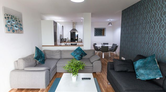 Media City Apartments, Salford Quays, Manchester
