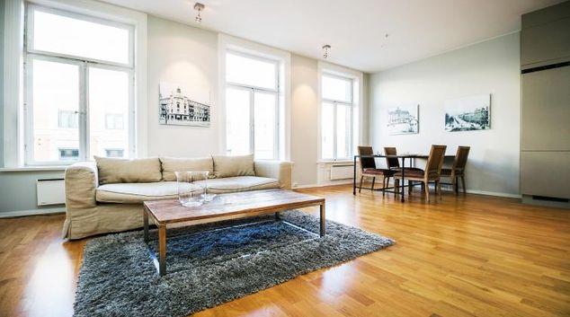 Living area at Riddervolds Gate 10 Apartments