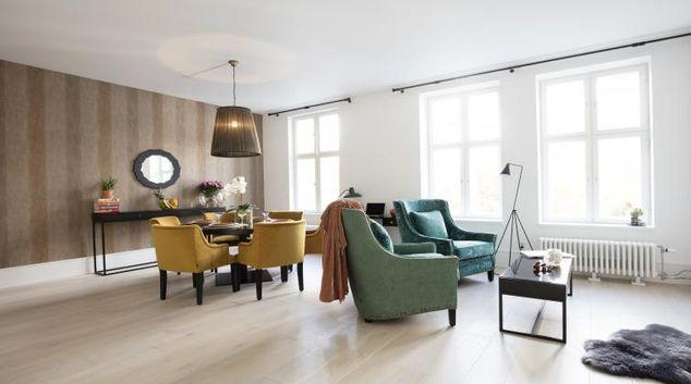 Living area at Colbjørnsens Gate 4 Apartments
