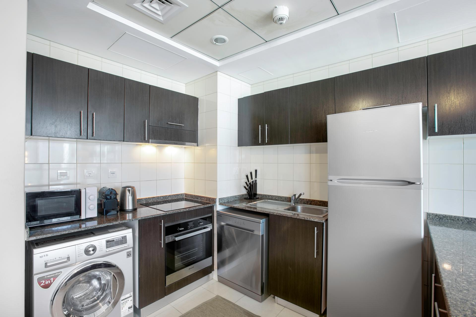 Kitchen at Royal Oceanic Apartment