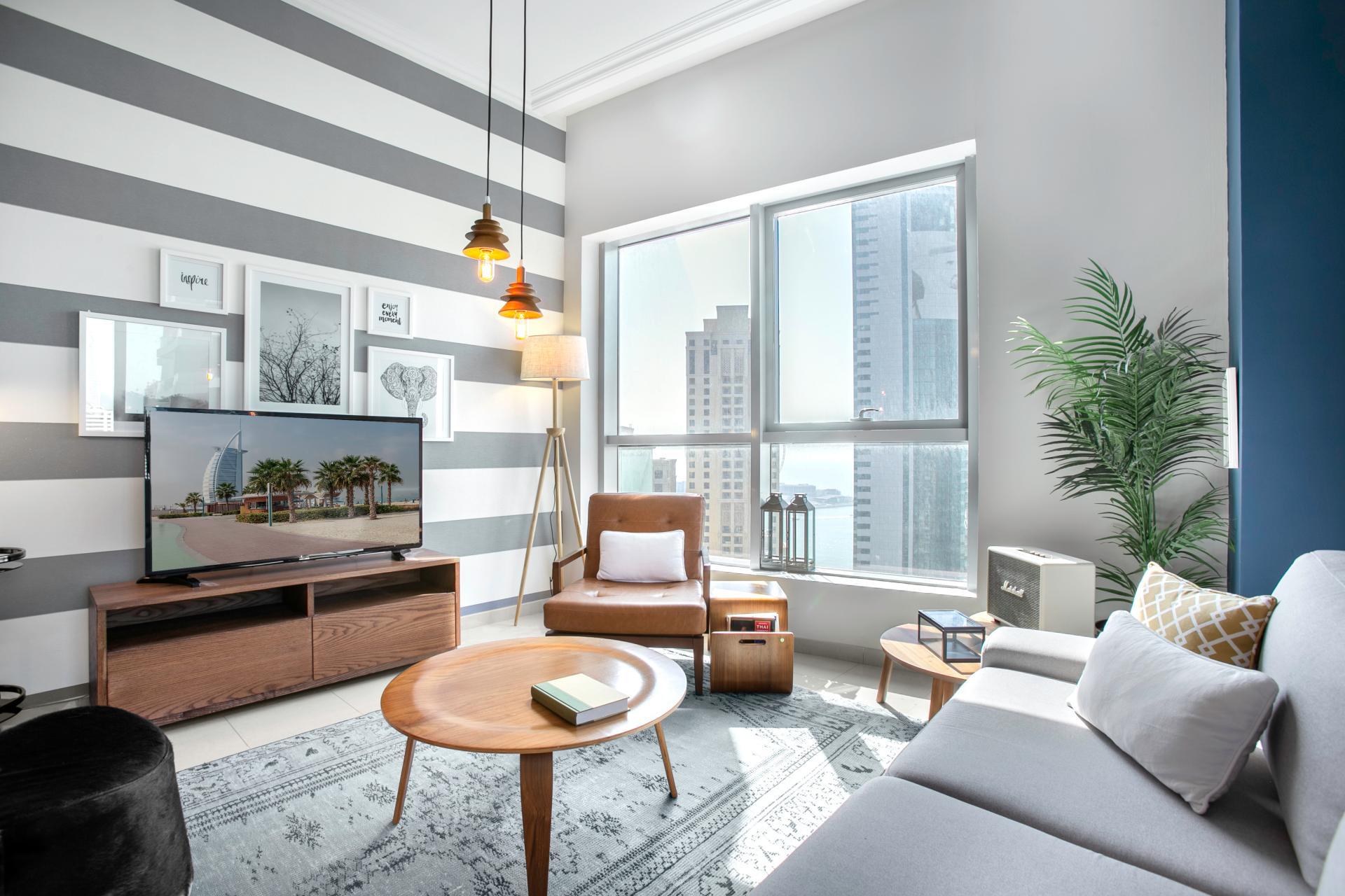 TV at Royal Oceanic Apartment