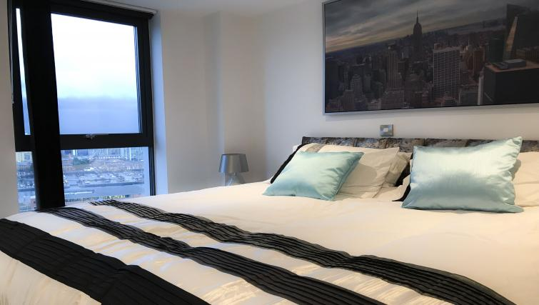 Bedroom at IncityNow Media City Penthouse