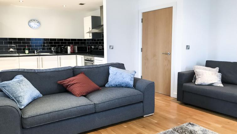 Sofa at IncityNow Media City Penthouse