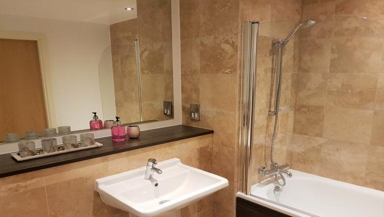Bathroom at IncityNow Media City Penthouse