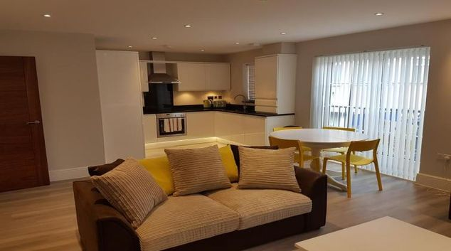 Living room at Billericay Heights Apartment