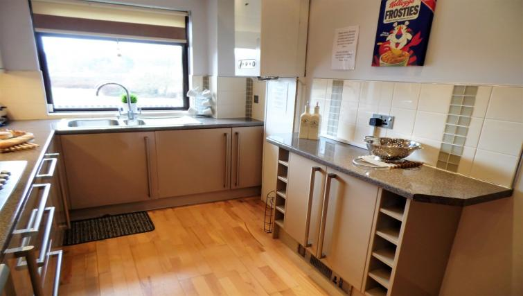 Modern kitchen at Blair Park Apartment