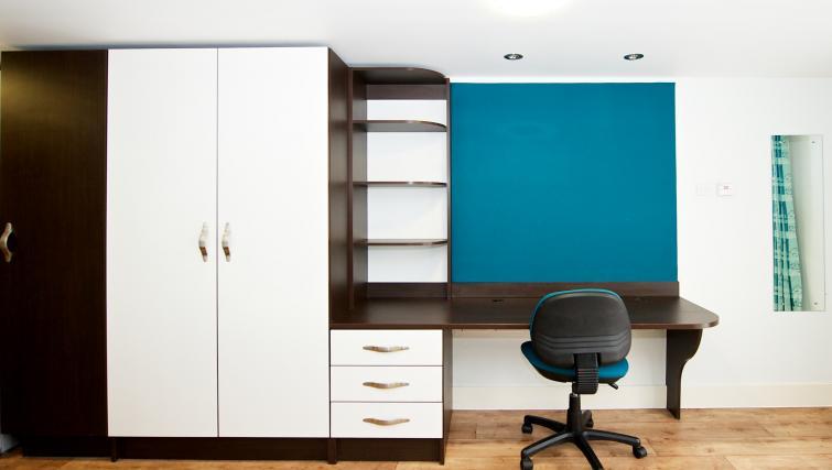 Desk at the CityLiveIn Summer Apartments